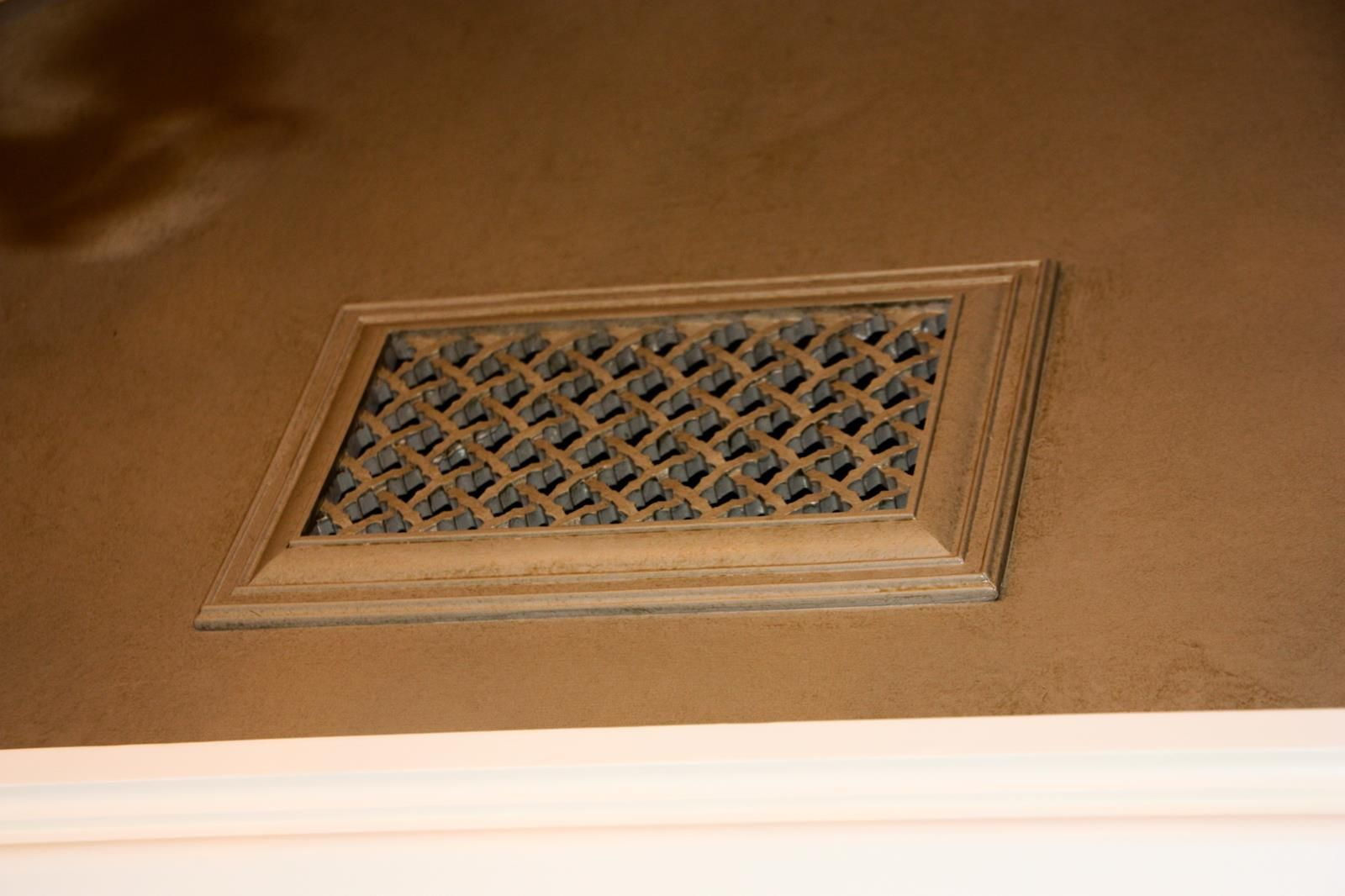 Ecofriendly resin decorative wall and ceiling vent covers