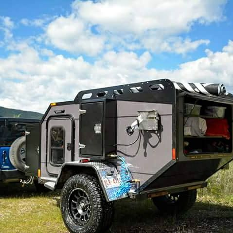 OFF GRID Teardroptrailers Teardrop Camper Off Road