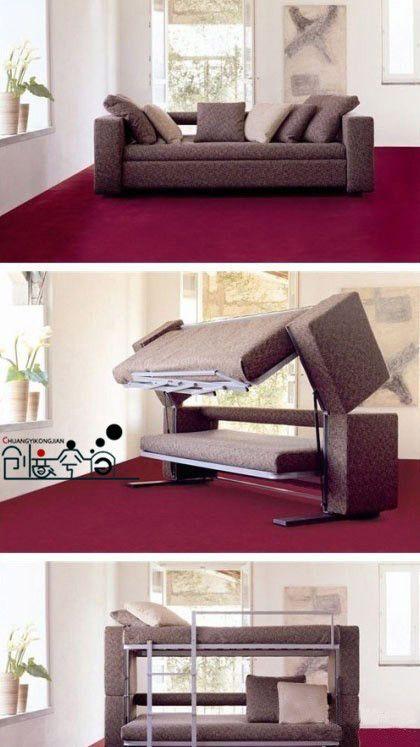 Organized Living Bunk Bed Sofa Furniture Home Decor Home