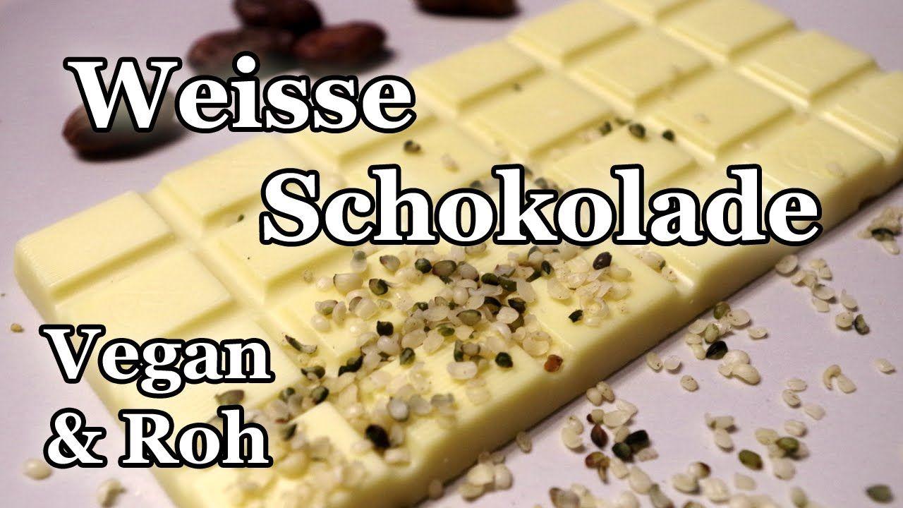 Vegan + Rohkost: Weisse Schokolade selber machen!