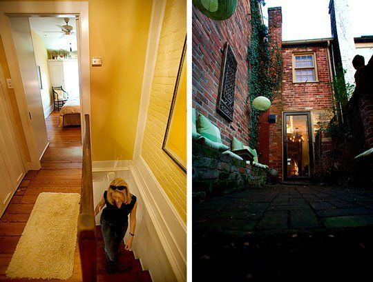 House Tour: Alexandria's Spite House — NYT  2.29.08