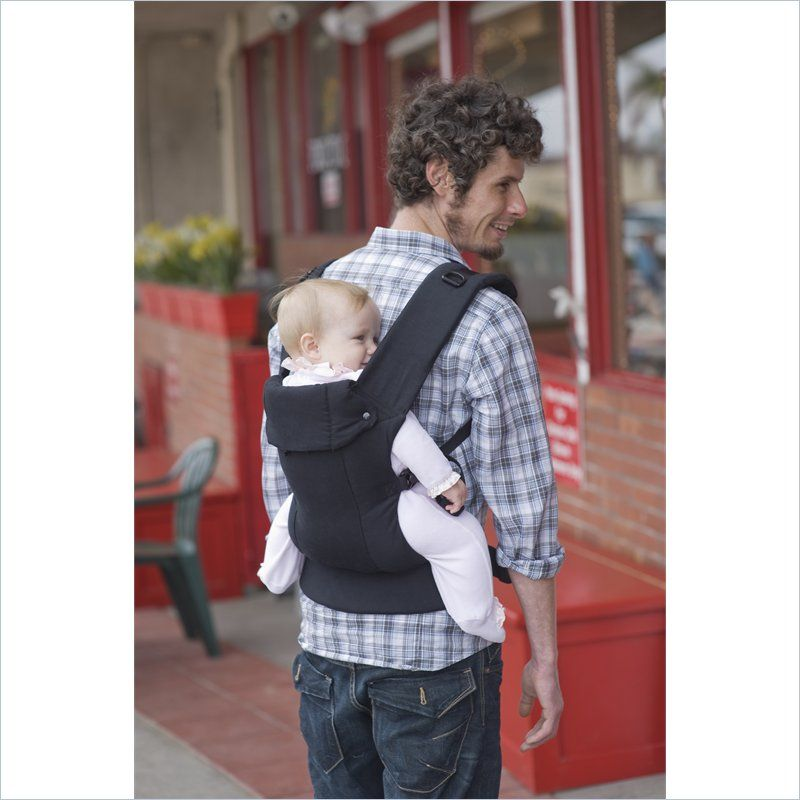 Beco Toddler Buckle Carrier for Toddlers and Pre-School Children Metro Black