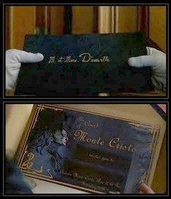 Count Of Monte Cristo Invitation Template Count Of Monte