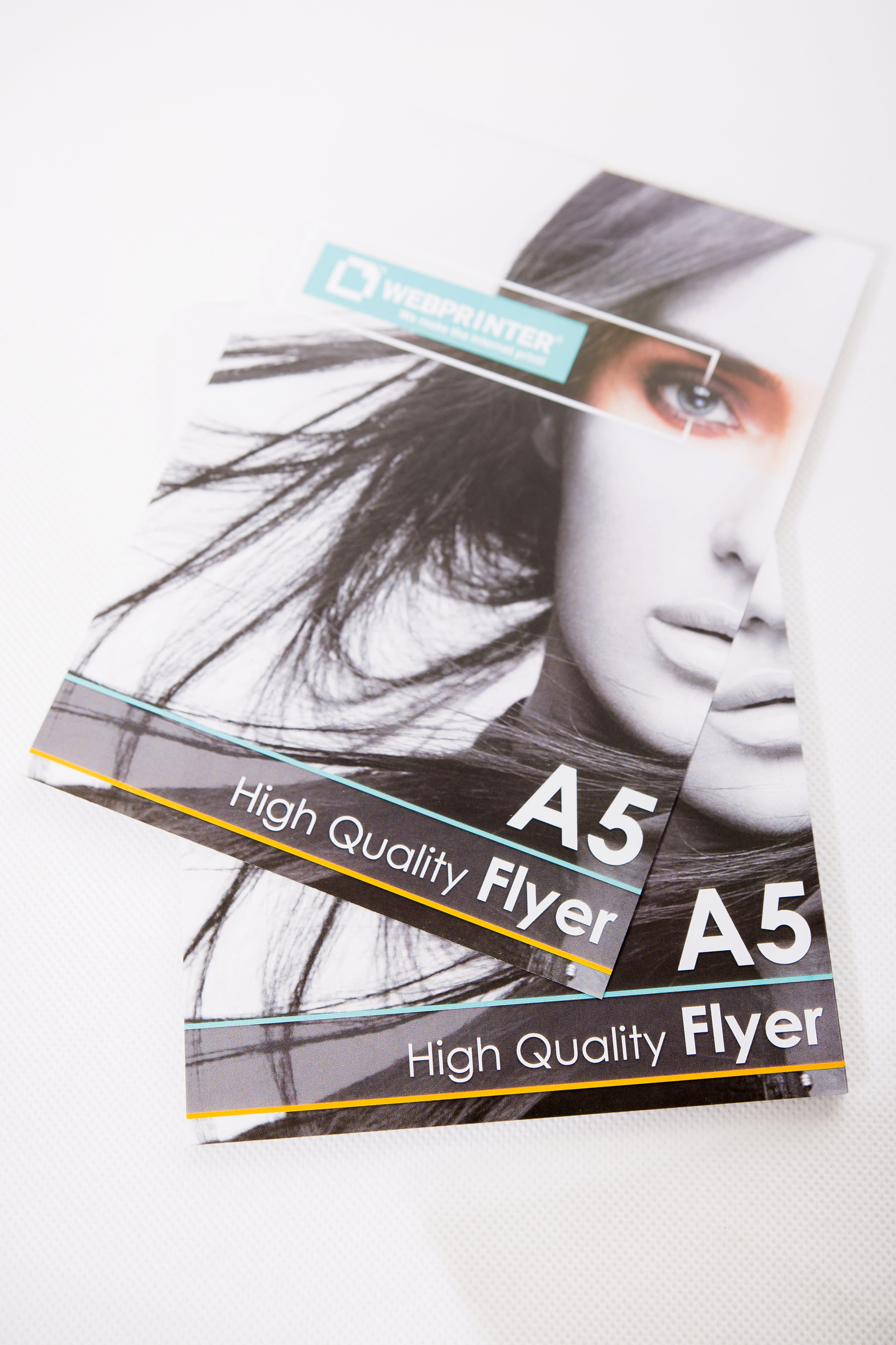 Select Sizes Flyers Size 99x210mm A6 Flyers Size 105x148mm A5