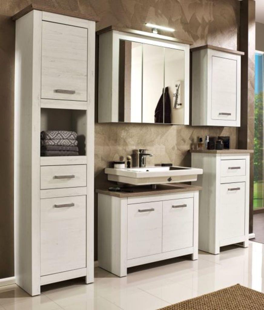 Waschbeckenunterschrank Badmobel Landhaus Lotte Pinie Bild 6 Bathroom Vanity Vanity Double Vanity