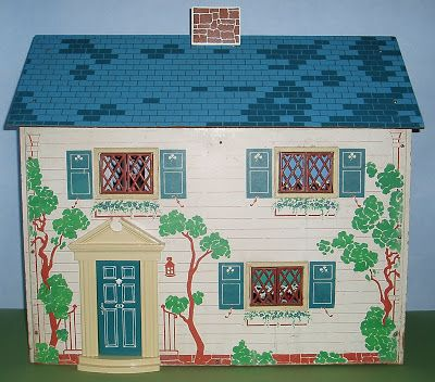 vintage dollhouse 1940s metal keystone my mother had this exact Homes Built in the 1940s vintage dollhouse 1940s metal keystone my mother had this exact one