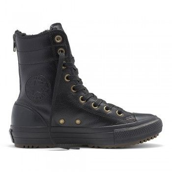 converse winter damen leder