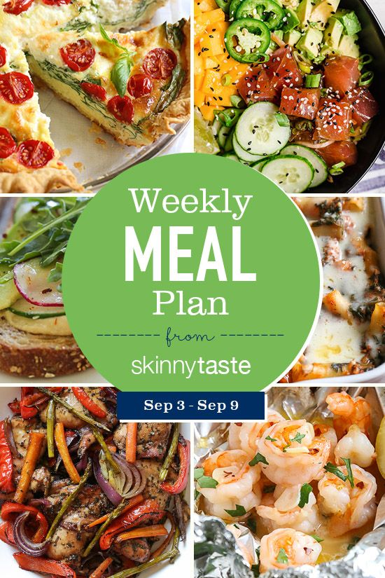A free 7-day flexible meal plan including breakfast, lunch and dinner and a shopping list. All ...