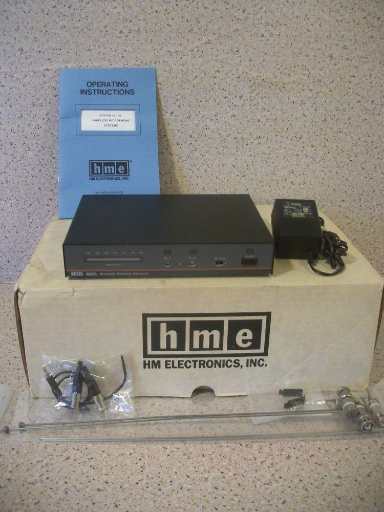 hm electronics hme rx520 wireless receiver w box antennas manual rh br pinterest com Samsung E Manual Impco Model E Manual