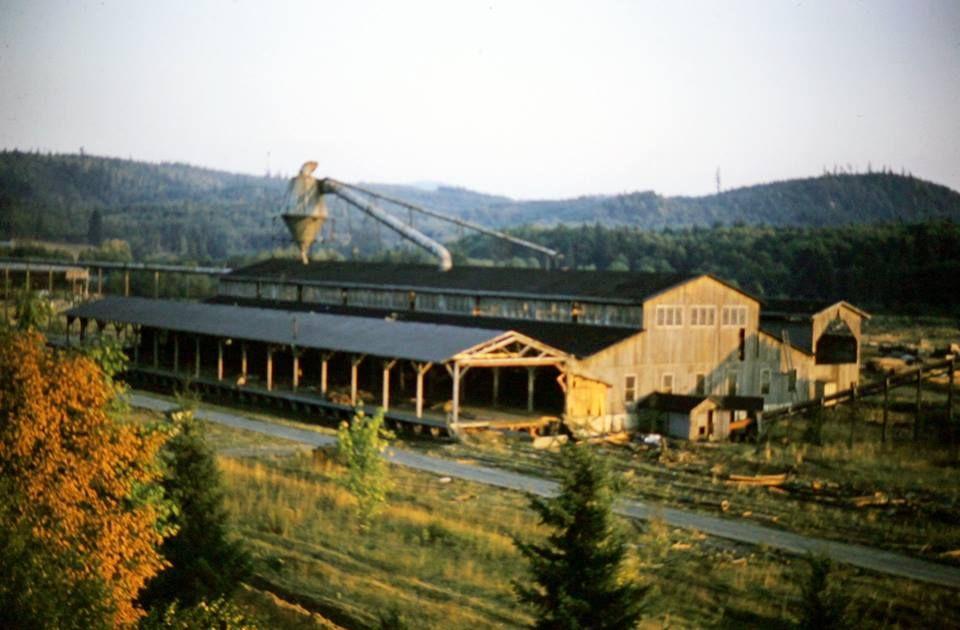 Vernonia Oregon American Lumber Mill Places Of Interest Oregon Vernonia