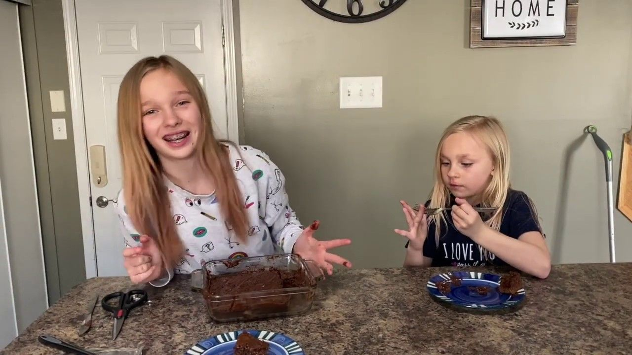 Jadyn makes Easter Dessert YouTube in 2020 Easter