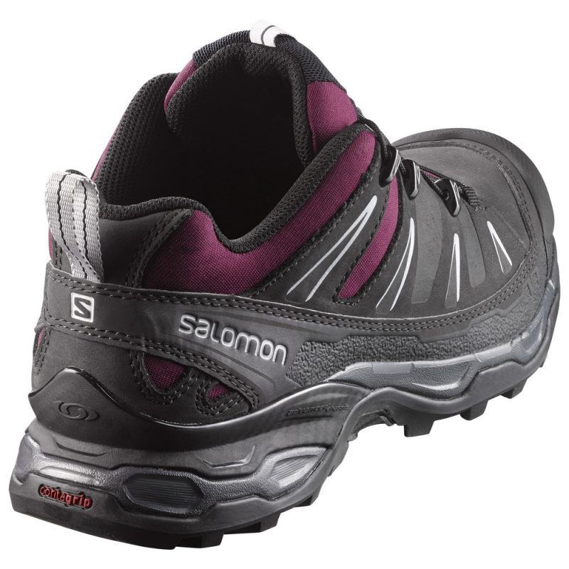 4a6b8054def SALOMON X ULTRA 3 LTR W BORDEAUX/ASPHALT/STEEL GREY Bordeaux, Steel,