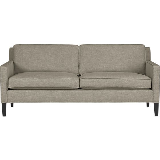 Vaughn Apartment Sofa In Sofas Crate And Barrel At Home