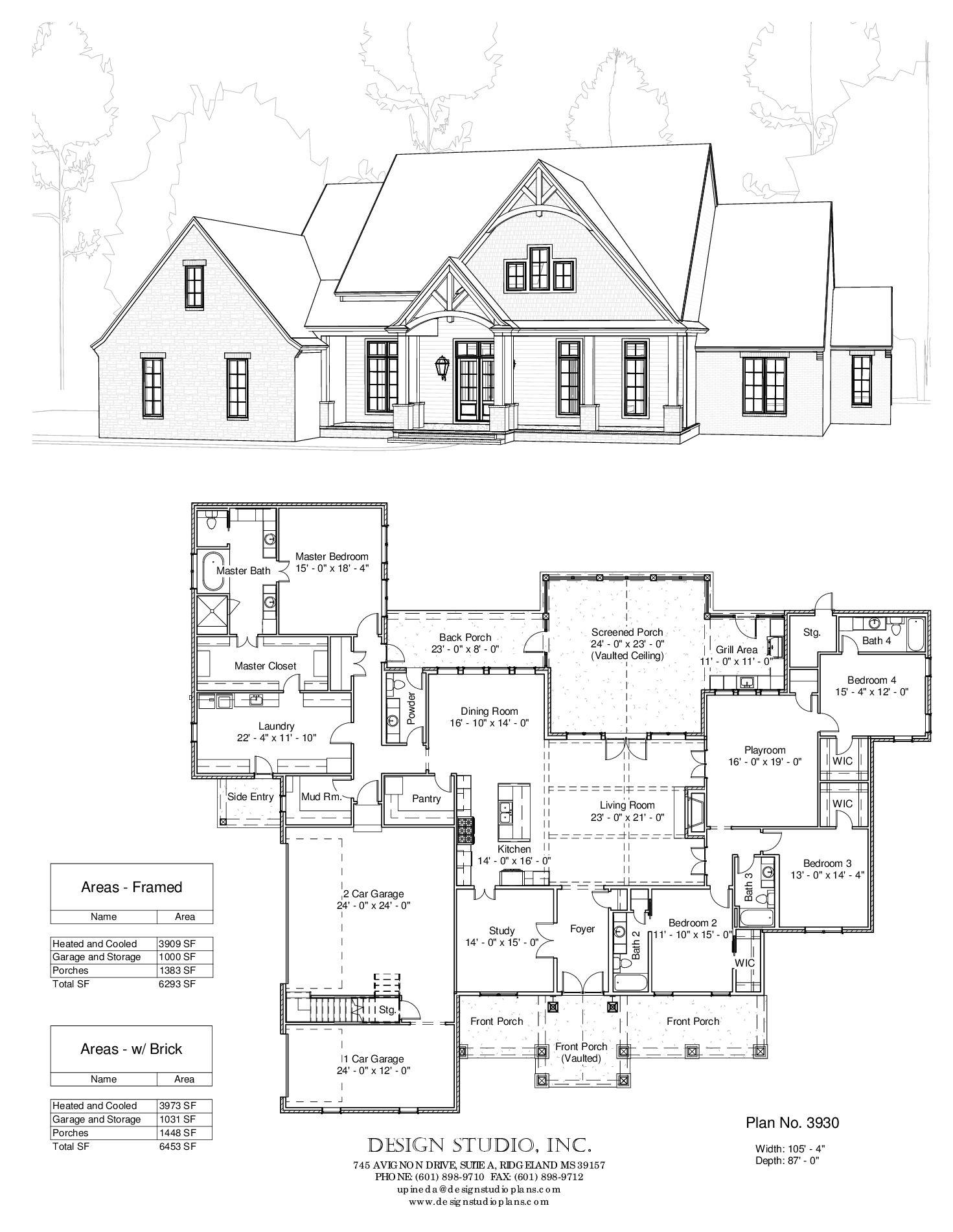 3930 P1 Jpg 1 471 1 903 Pixels Dream House Plans House Blueprints House With Porch