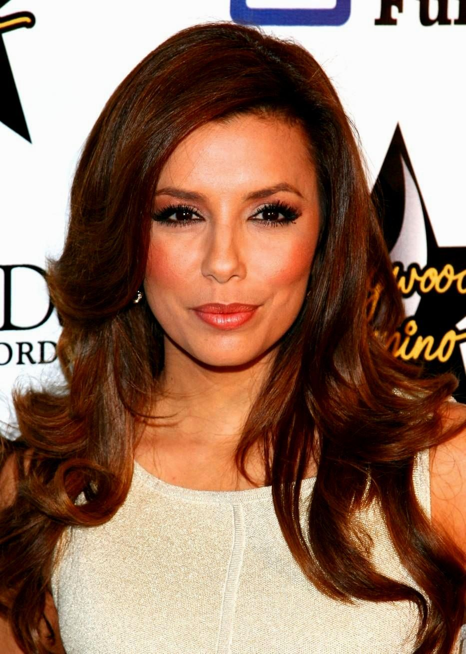 Long Hairstyles Eva Longoria  Hair styles, Long hair styles, Prom