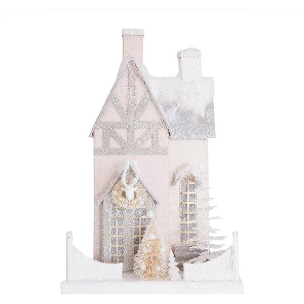 Cody Foster  Co Pastel Bavarian House Ornament ($126) ❤ liked on