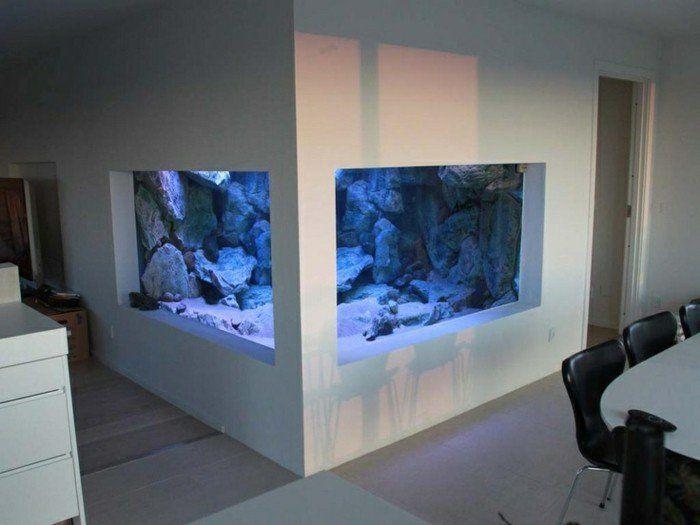L\' aquarium mural en 41 images inspirantes!