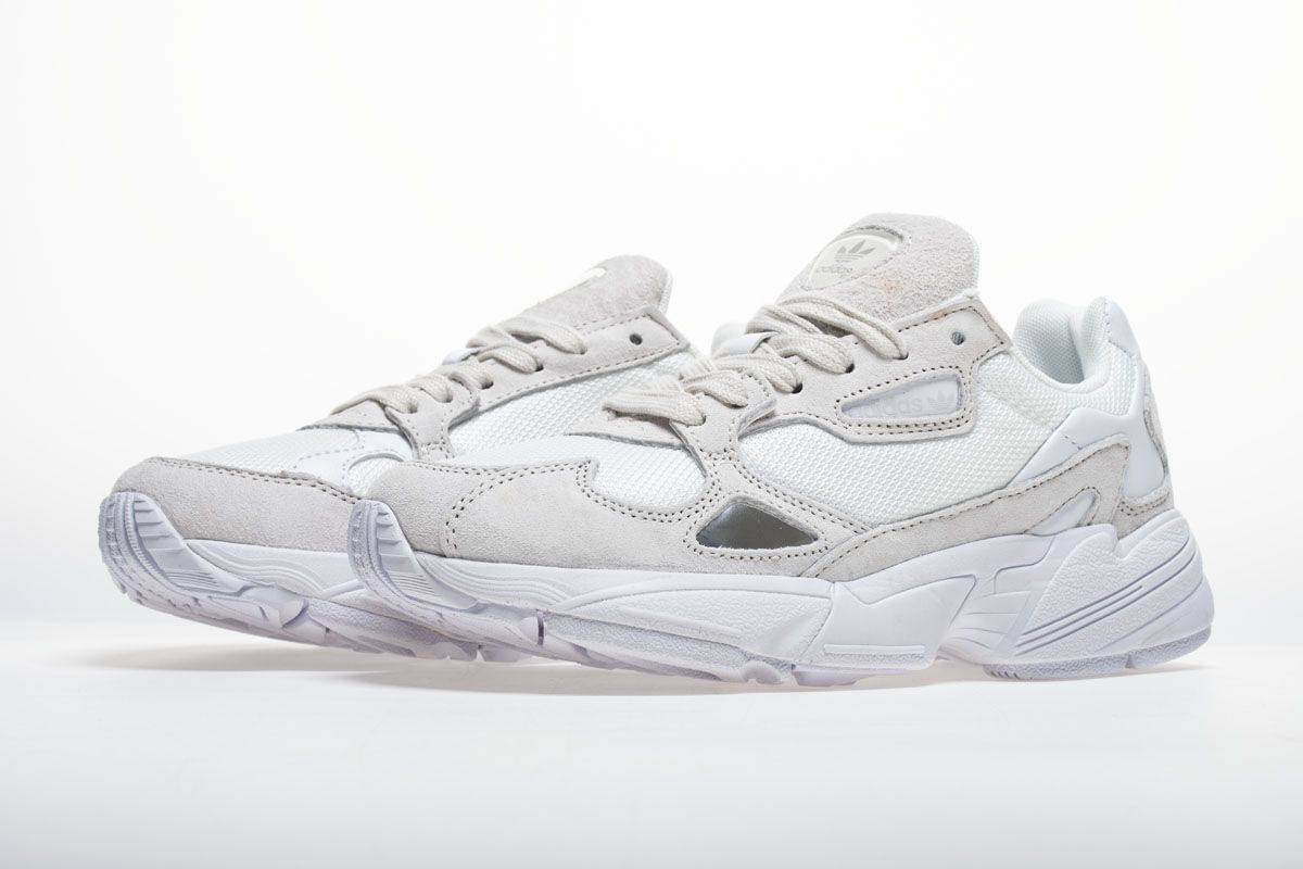 8180e4acc871c Adidas Falcon W BB9174 YUNG-2 White Grey Shoes5