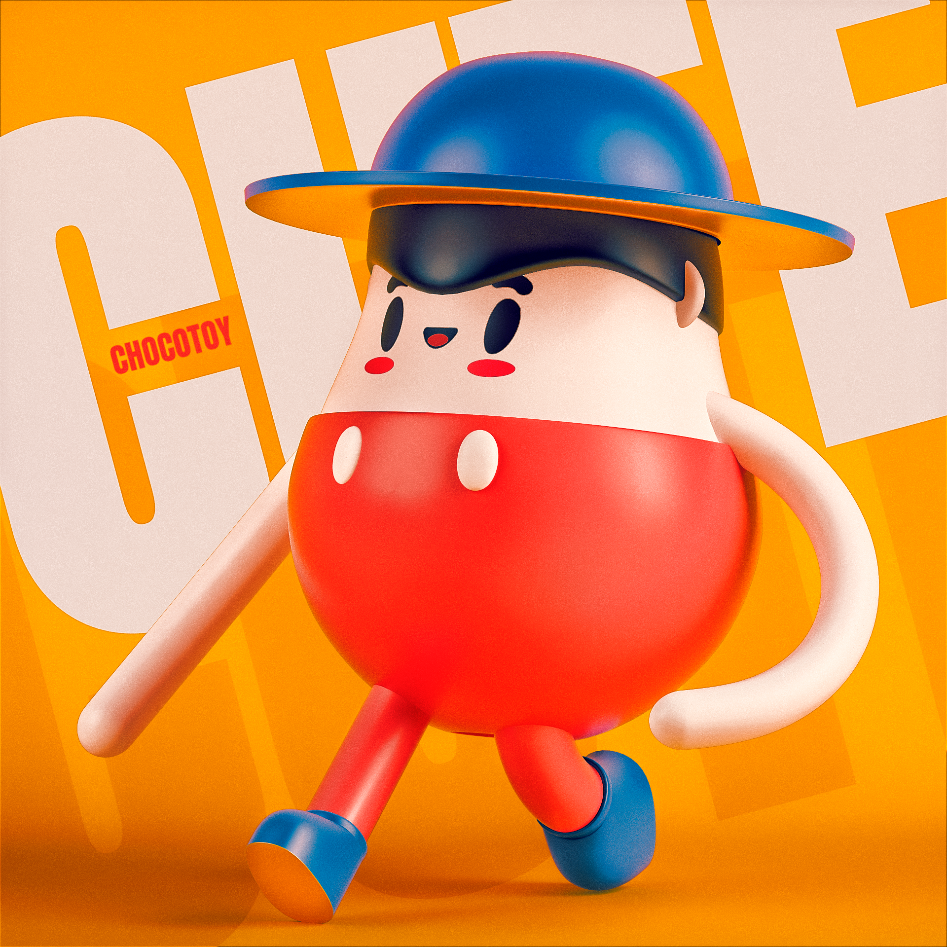 collection illustration /16 on Behance   C4D-人物 in 2019