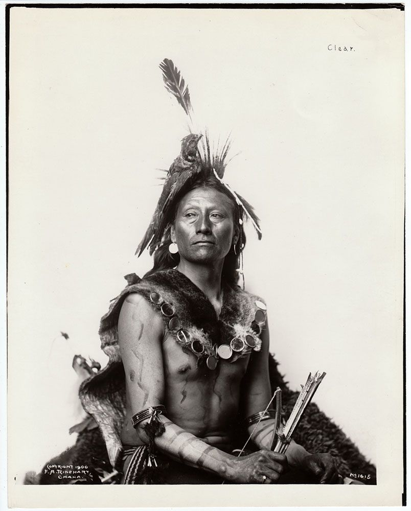 Native American Healing Herbs Plants: 19th Century Portraits Of Native American Indians
