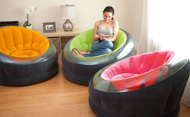 Outstanding Intex Inflatable Empire Chairs Vs Bean Bags Inflatable Caraccident5 Cool Chair Designs And Ideas Caraccident5Info