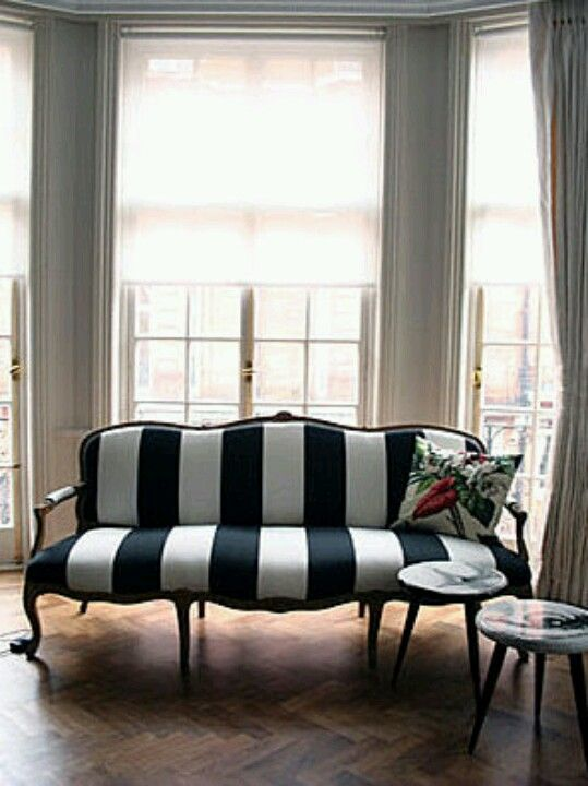 Black And White Couch Would Mix This Is With A