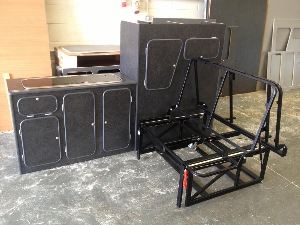 flat pack universal camper kitchen units - VW T4 Forum - VW