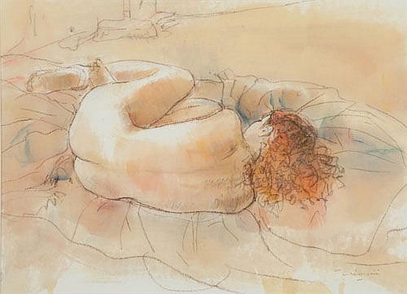 William Boissevain - Nude