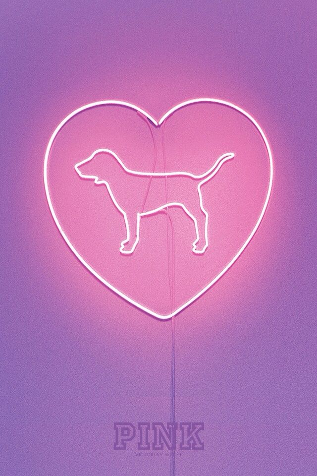 victoria s pink logo wallpaper - photo #32