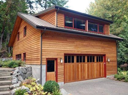 Custom garage doors pictures database daily updates home for Unique garage apartment plans