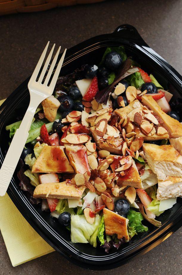 Wendy's Berry Almond Chicken Salad
