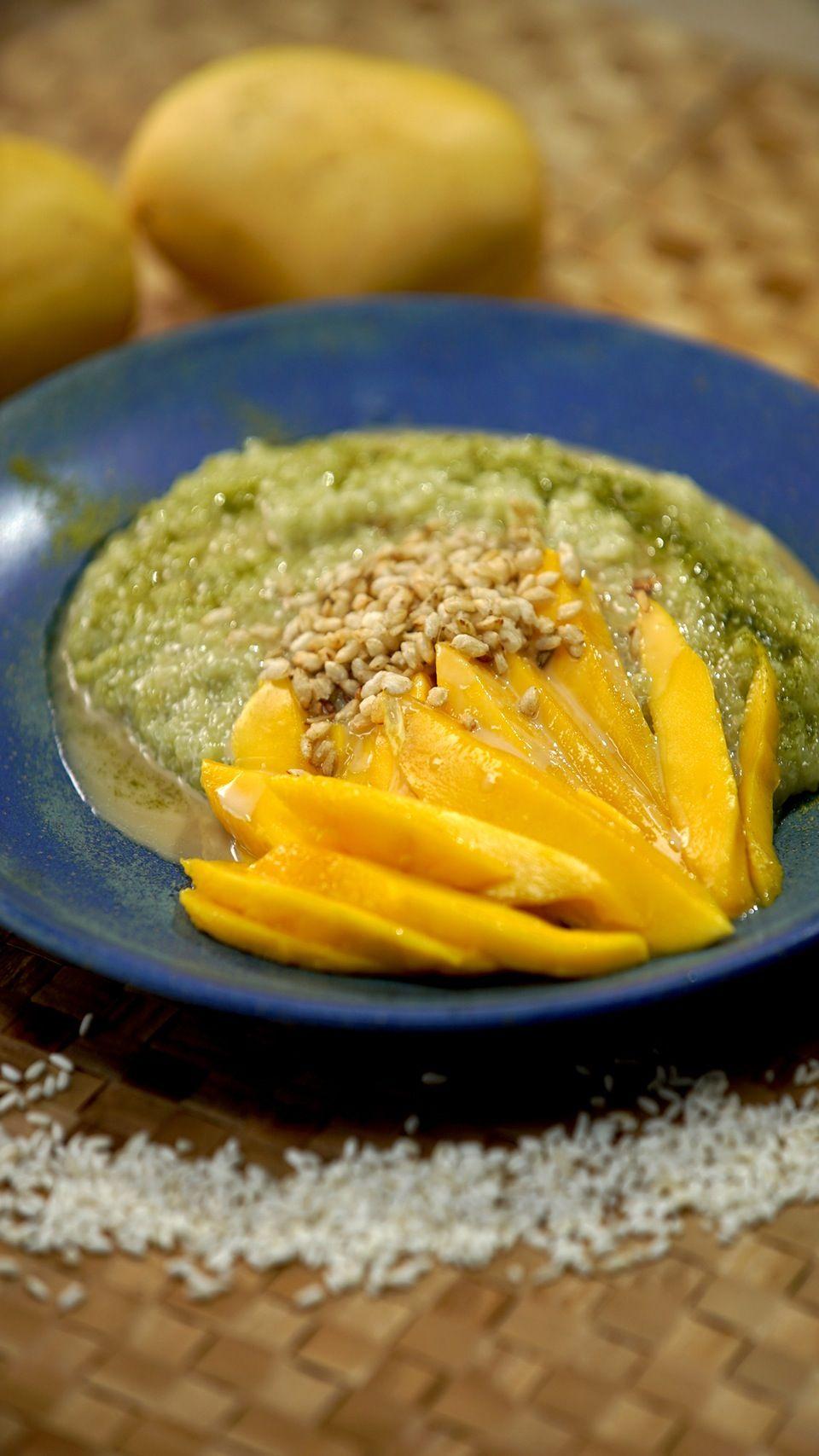 Mango matcha sticky rice recipe mango sticky rice