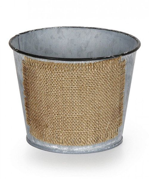 Take a look at the Rustic Galvanized Metal Planter on #zulily today!