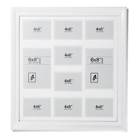 Modern White Photo Frame - 50Cm X 50Cm | Kmart | I Love Presents ...