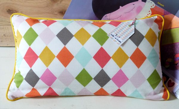 Coussin Arlequin