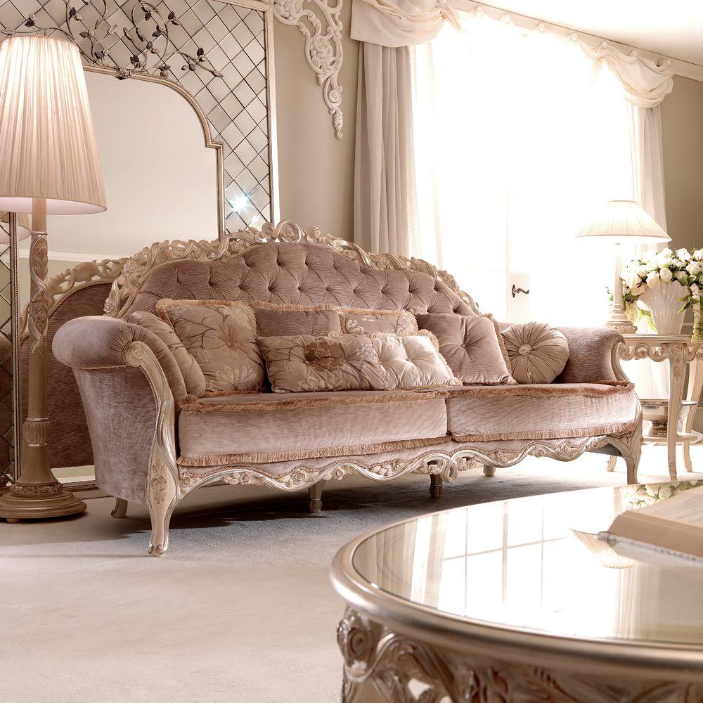 Luxurious Designer Italian Pink Velvet Sofa Hogar Pinterest