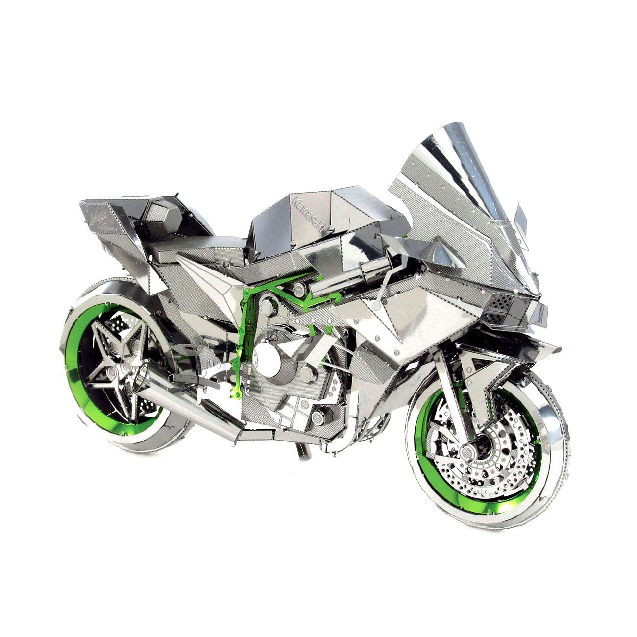 Metal earth iconx 3d laser cut model kit kawasaki ninja h2r metal earth iconx 3d laser cut model kit kawasaki ninja h2r motorcycle solutioingenieria Images
