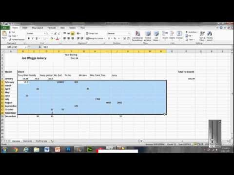 Video 009- How To Set Up A Simple Bookkeeping System - YouTube
