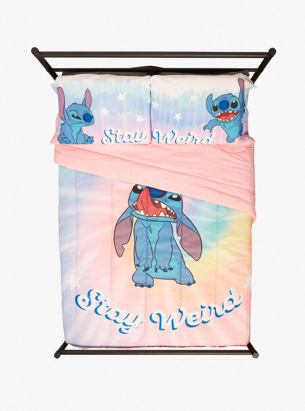 Disney Lilo & Stitch Stay Weird Comforter in 2020 Lilo