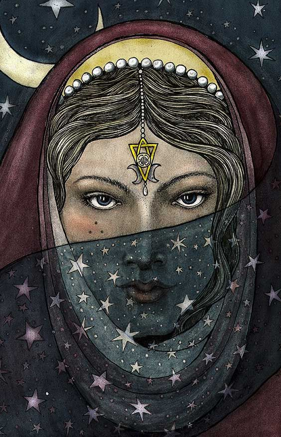 Magick Wicca Witch Witchcraft: #High #Priestess