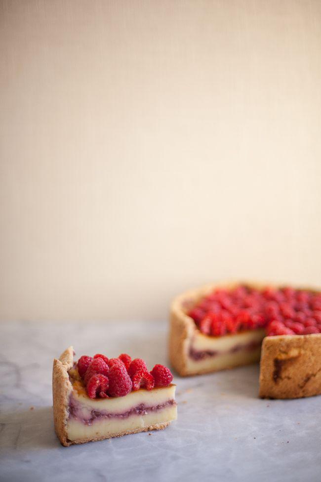 Raspberry Custard Tart   Zoe Francois   *Sweet Dreams*   Pinterest
