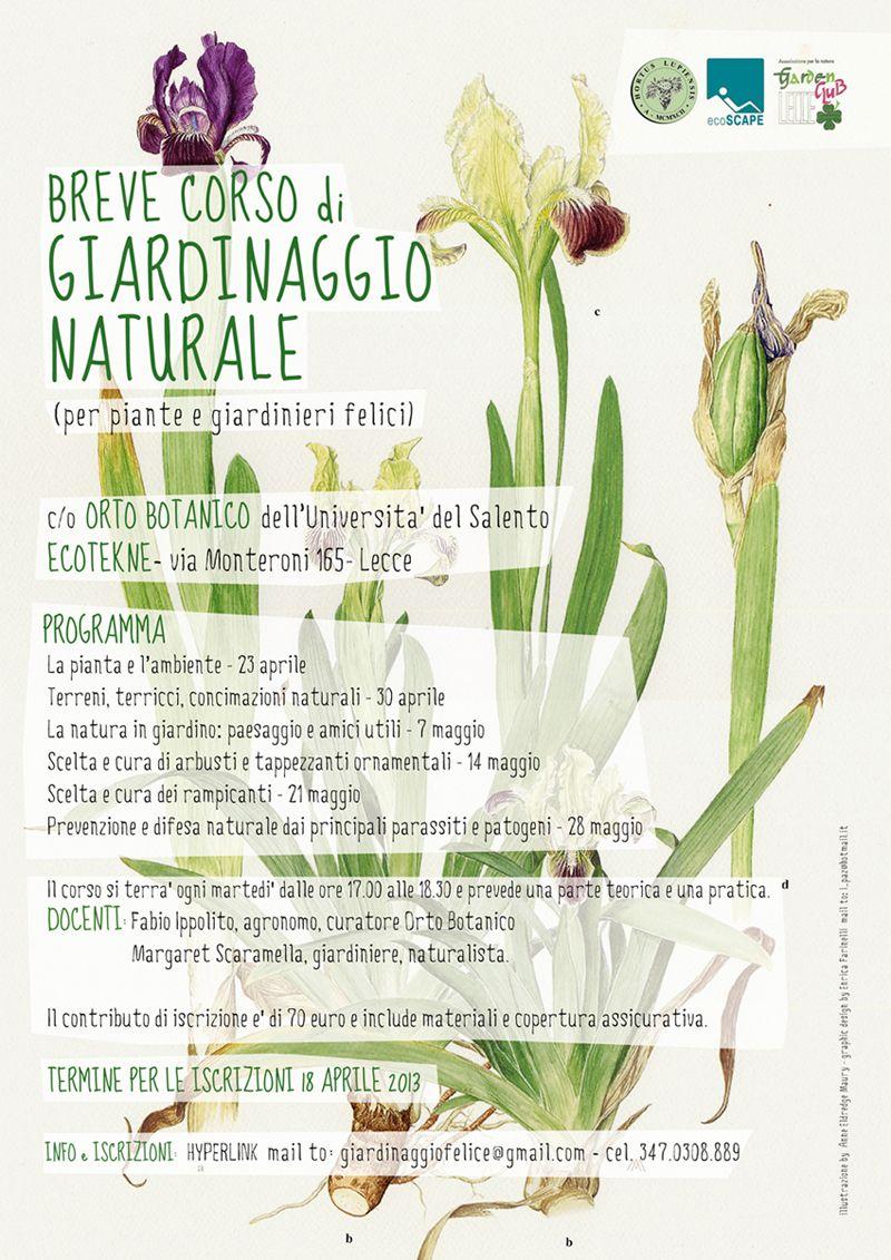 Gardening Course Poster Design Disenos De Unas Vias