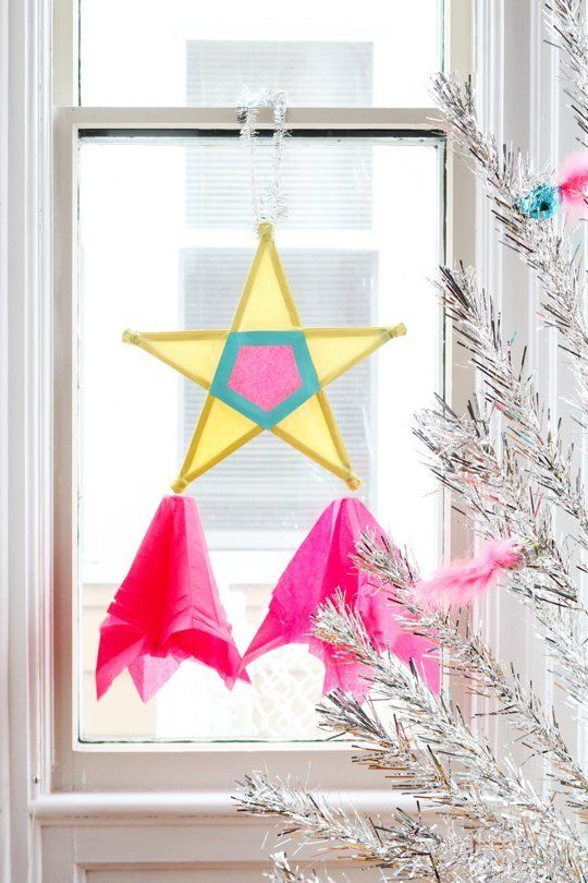 How To Make A Filipino Christmas Star Diy Christmas Star Christmas Star Christmas Parol