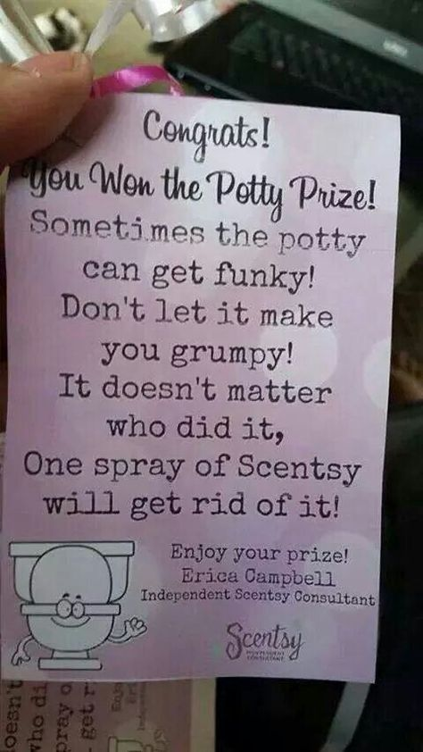 Potty Prize Such A Cool Game Idea Contact Me By Email At