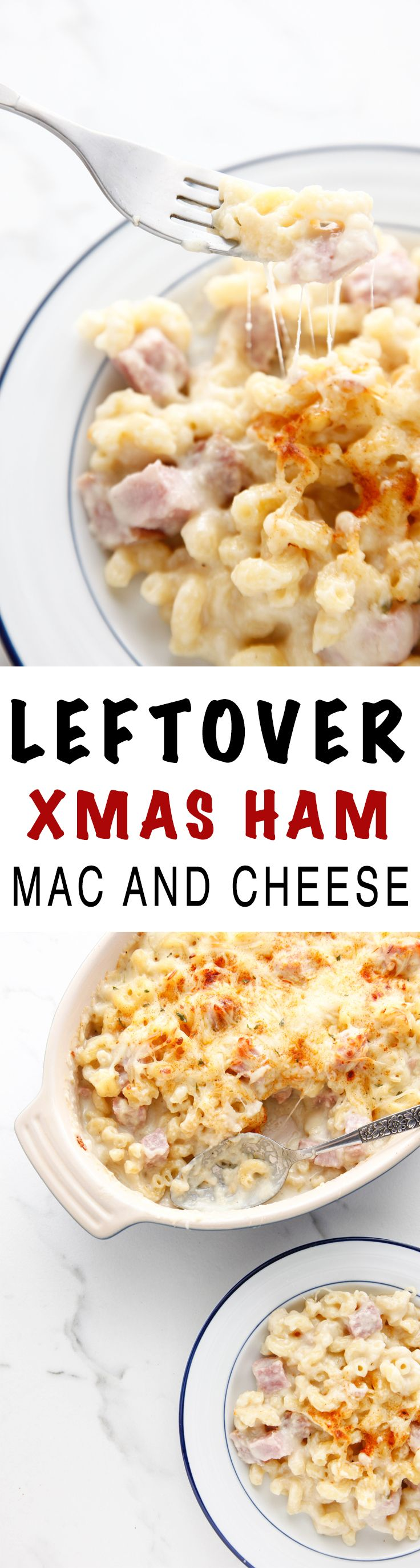 Leftover ham mac and cheese recipe leftover ham hams and macs leftover ham mac and cheese christmas ham dinnerafter forumfinder Image collections