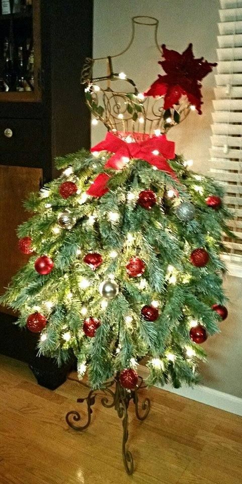 Dress Form Christmas Tree.20 Stunning Diy Mannequin Tree Dress Lakehouse Originals