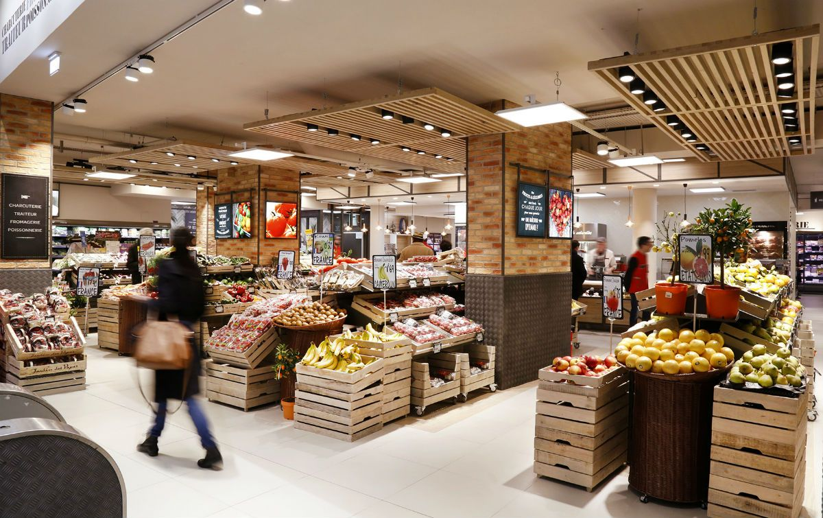 Find Out The Best Lighting Stores In Paris Grocery Store Design
