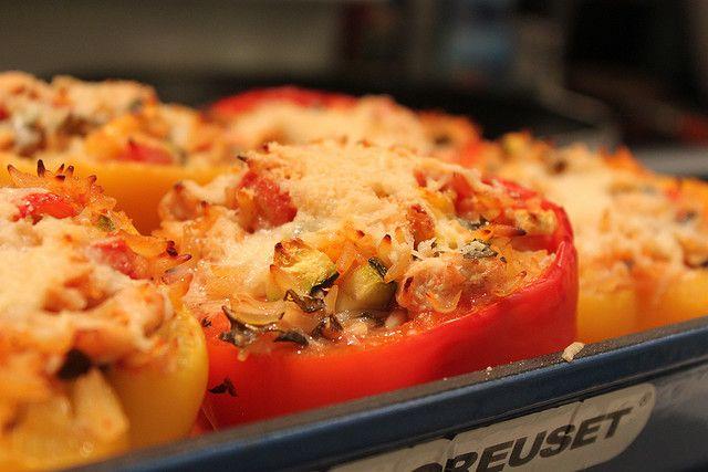 giada stuffed peppers