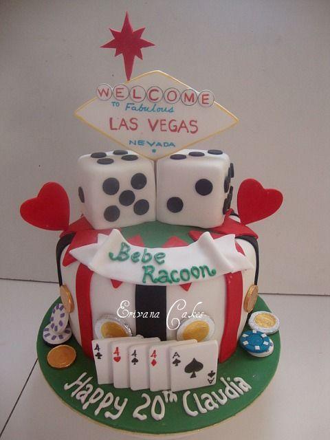Casino Las Vegas Cake 2 SP016