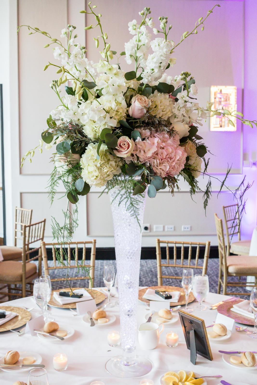 Pin By Hamilton Flowers Luxury Events On Azeen Brandt S Wedding Beautiful Flower Arrangements Table Decorations Flower Arrangements